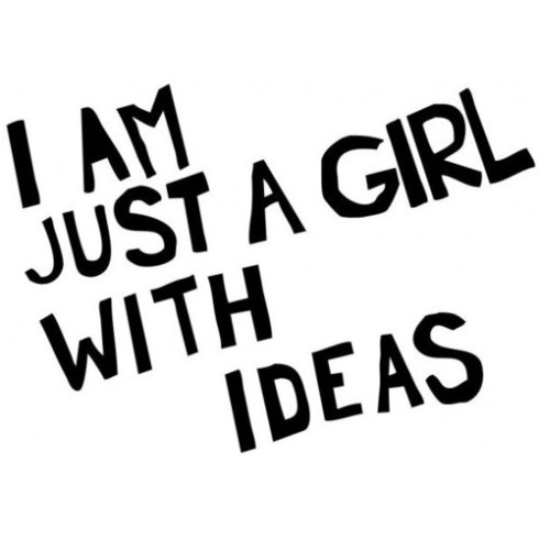 Just a girl...